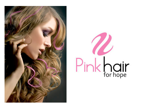 Pink Hair for Hope | Be Unique Hair Extensions & Salon - Asheville, NC & Greenville, SC
